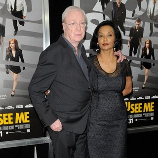 Michael Caine, Shakira Baksh in New York Premiere of Now You See Me