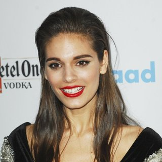 Caitlin Stasey in 25th Annual GLAAD Media Awards
