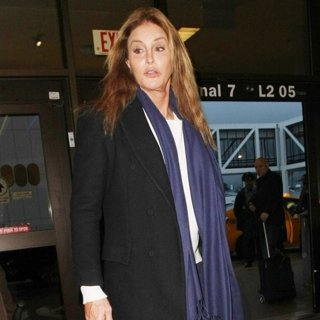 Caitlyn Jenner-Caitlyn Jenner at Los Angeles International Airport