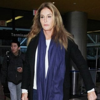 Caitlyn Jenner at Los Angeles International Airport