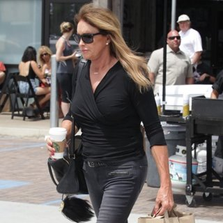 Caitlyn Jenner Shopping at Trancas Country Market