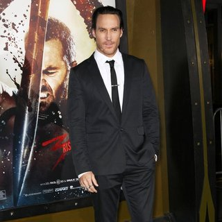 Callan Mulvey in 300: Rise of an Empire Hollywood Premiere