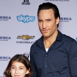 Callan Mulvey in Captain America: The Winter Soldier Los Angeles Premiere