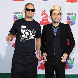 Calle 13 in The 12th Annual Latin GRAMMY Awards - Arrivals