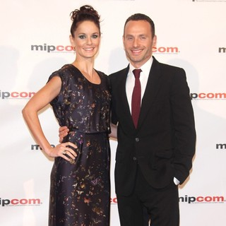 Sarah Wayne Callies, Andrew Lincoln in 2010 MIPCOM Opening Night - Arrivals