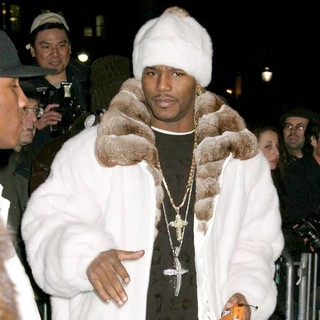 Cam'ron in Jennifer Lopez's First Ever Fashion Show - Olympus Fashion Week Fall 2005