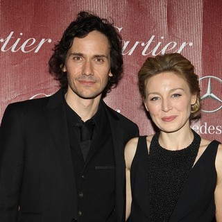 Christian Camargo, Juliet Rylance in 25th Anniversary Palm Springs International Film Festival - Arrivals