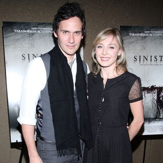 Christian Camargo, Juliet Rylance in The NYC Screening of Sinister