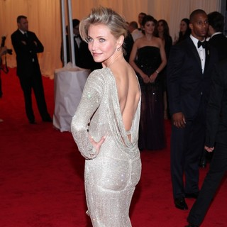 Cameron Diaz in Schiaparelli and Prada Impossible Conversations Costume Institute Gala
