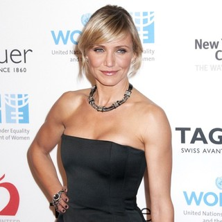Cameron Diaz in Cameron Diaz Joins TAG Heuer to Raise Money for UN Women and New York Cares' Hurricane Sandy Relief