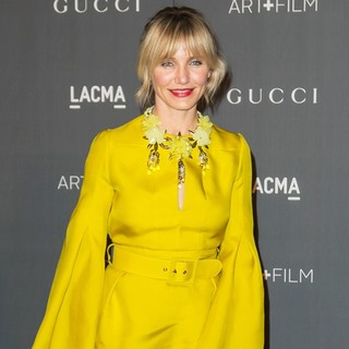 Cameron Diaz in LACMA 2012 Art + Film Gala - Arrivals