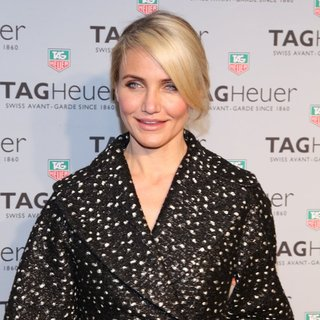 Cameron Diaz - Opening of Tag Heuer Flagship NYC Store