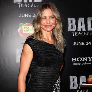 Cameron Diaz in World Premiere of Bad Teacher - Arrivals