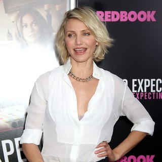 Cameron Diaz in What to Expect When You're Expecting New York Premiere
