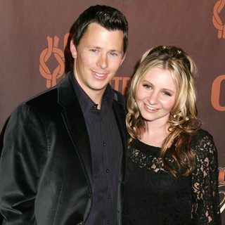 Michael Cameron, Beverley Mitchell in CMT Giants Honoring Reba McEntire - Arrivals