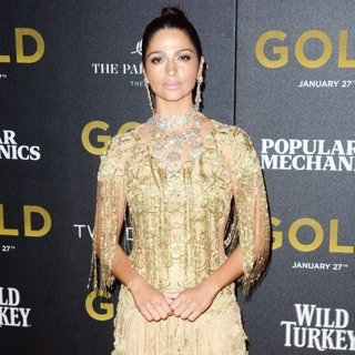 Camila Alves-World Premiere of Gold - Red Carpet Arrivals