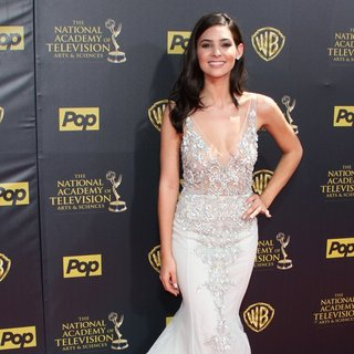 Camila Banus in The 42nd Annual Daytime Emmy Awards - Red Carpet Arrivals