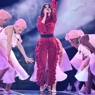 Camila Cabello in The MTV EMA's 2017 - Show