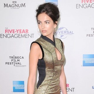 Camilla Belle in 2012 Tribeca Film Festival Opening Night - The Five-Year Engagement - Arrivals - camilla-belle-2012-tribeca-film-festival-01