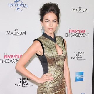 Camilla Belle in 2012 Tribeca Film Festival Opening Night - The Five-Year Engagement - Arrivals
