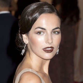 Camilla Belle in Schiaparelli and Prada Impossible Conversations Costume Institute Gala