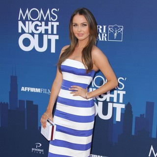Camilla Luddington in Premiere of Moms' Night Out