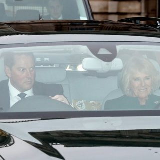 Camilla Parker Bowles in The Queen's Christmas Lunch 2017
