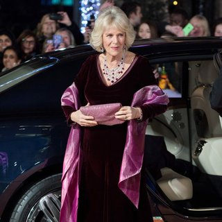 Camilla Parker Bowles in UK Premiere The Second Best Exotic Marigold Hotel - Arrivals