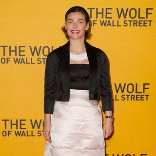 Camilla Rutherford in The Wolf of Wall Street U.K. Premiere