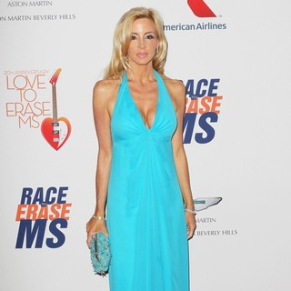 Camille Grammer in The 20th Annual Race to Erase MS Gala Love to Erase MS - Red Carpet