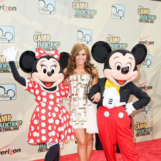Demi Lovato in World Premiere of 'Camp Rock 2: The Final Jam'