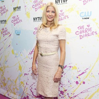 Candace Bushnell in The Carrie Diaries Premiere