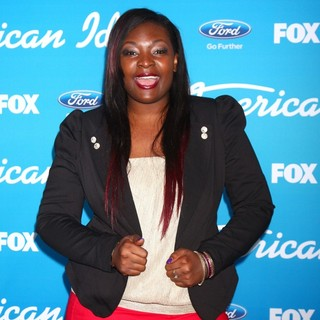 Candice Glover in FOX's American Idol Finalists Party