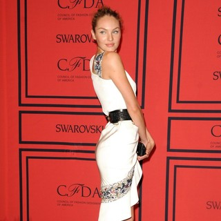 Candice Swanepoel in 2013 CFDA Awards - Arrivals