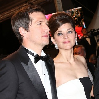 Guillaume Canet, Marion Cotillard in 66th Cannes Film Festival - Blood Ties Premiere