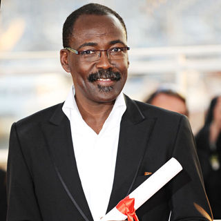 Mahamat-Saleh Haroun in 2010 Cannes International Film Festival - Day 12 - Palme d'Or Closing Ceremony Red Carpet Arrivals