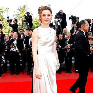 Agnes Letestu in 2010 Cannes International Film Festival - Day 12 - Palme d'Or Closing Ceremony Red Carpet Arrivals