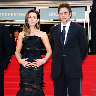 Kate Beckinsale, Benicio Del Toro in 2010 Cannes International Film Festival - Day 12 - Palme d'Or Closing Ceremony Red Carpet Arrivals