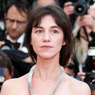 Charlotte Gainsbourg in 2010 Cannes International Film Festival - Day 12 - Palme d'Or Closing Ceremony Red Carpet Arrivals