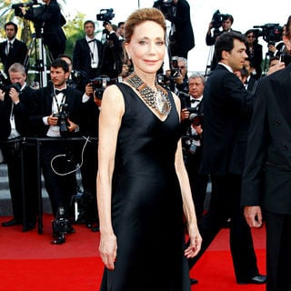 Marisa Berenson in 2010 Cannes International Film Festival - Day 12 - Palme d'Or Closing Ceremony Red Carpet Arrivals