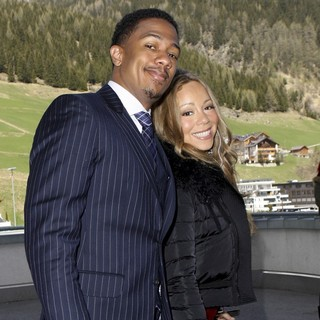 Nick Cannon, Mariah Carey in Mariah Carey and Nick Cannon Arrives to The Top of The Mountain Concert