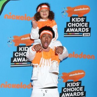 Moroccan Scott Cannon, Nick Cannon in Nickelodeon's 2018 Kids' Choice Awards