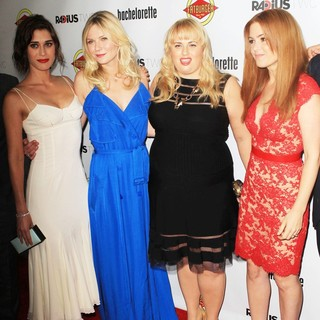 Lizzy Caplan, Kirsten Dunst, Rebel Wilson, Isla Fisher in The Premiere of RADiUS-TWC's Bachelorette