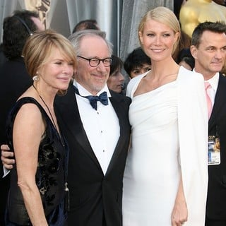 Kate Capshaw, Steven Spielberg, Gwyneth Paltrow in 84th Annual Academy Awards - Arrivals