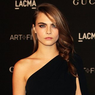 Cara Delevingne in 2014 LACMA Art + Film Gala Honoring Barbara Kruger and Quentin Tarantino Presented by Gucci
