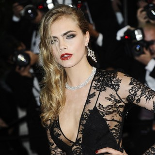 Cara Delevingne in Opening Ceremony of The 66th Cannes Film Festival - The Great Gatsby - Premiere
