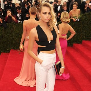 Cara Delevingne in Charles James: Beyond Fashion Costume Institute Gala - Arrivals
