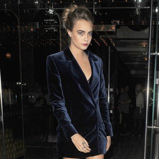 Cara Delevingne in Cara Delevingne Enjoy A Night Out in Mayfair