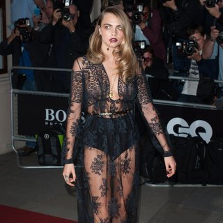 Cara Delevingne in The GQ Awards 2014 - Arrivals