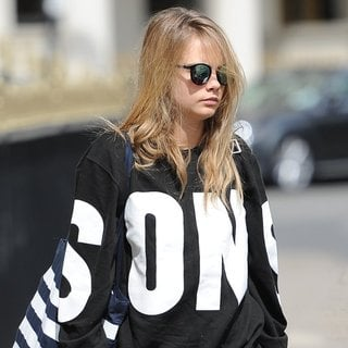 Cara Delevingne in Cara Delevingne Leaving Home